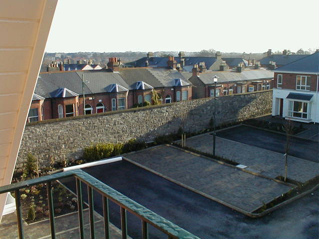 View from Balcony to Houses