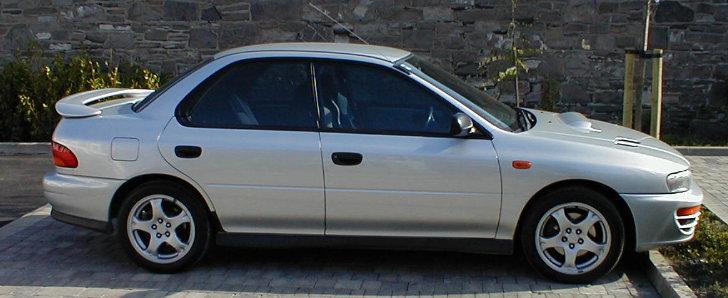 Subaru WRX Side