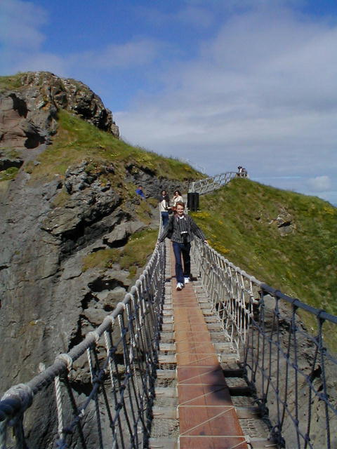 Carrick a Rede Bridge with me Walking