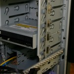 DVD Drive Mounted