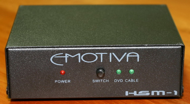 Emotiva LMC-1 HDMI Switch Front