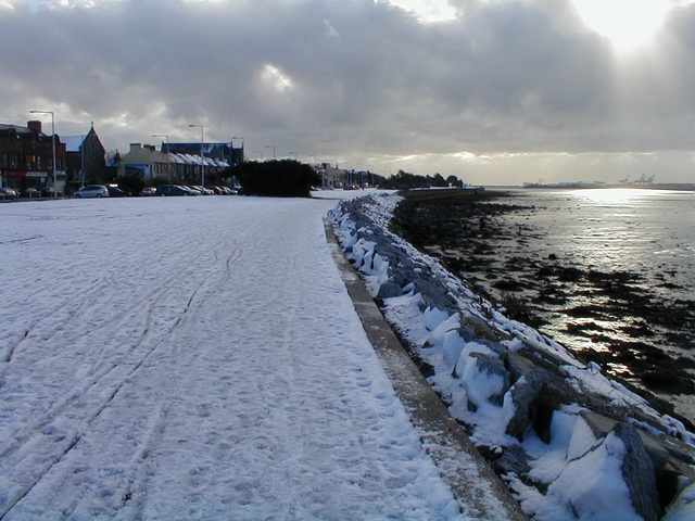 Snow 2nd Day - Clontarf to Sea