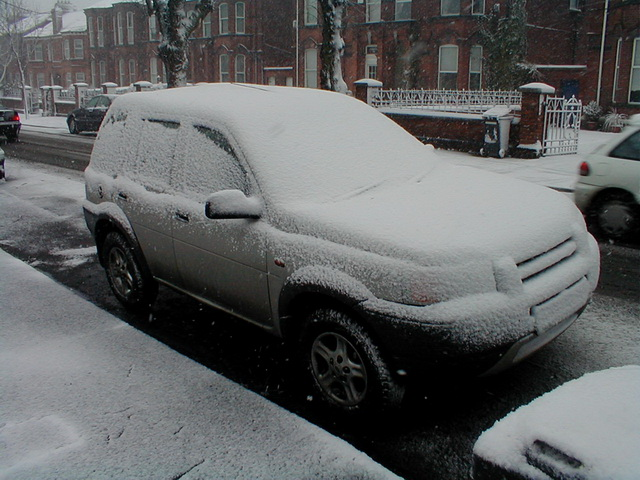 Snow Day 1 - Saint Lawrence Road Car