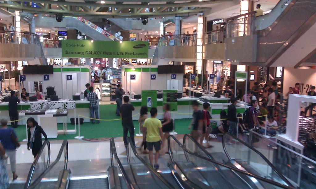 Starhub Samsung Galaxy Note II - Registration Area