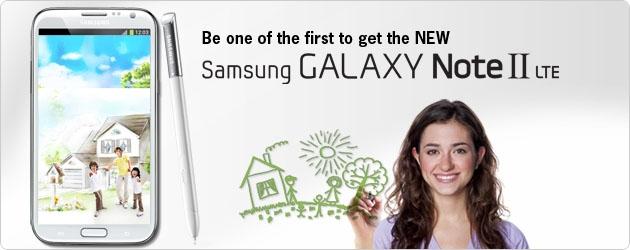Starhub Samsung Galaxy Note II LTE Promotion