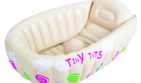 Tiny Tots Inflatable Baby Bath